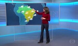 Confira a previsão do tempo para a sexta-feira (11) em todo o país