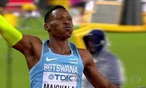Atleta de Botsuana faz esforço colossal para participar do Mundial de Atletismo