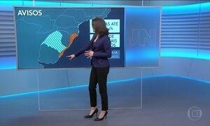 Confira a previsão do tempo para o sábado (12) em todo o país