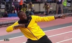 Usain Bolt faz despedida das pistas em mundial de atletismo na Inglaterra