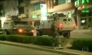 Ataque terrorista mata 18 pessoas e fere 12 na capital de Burkina Faso, no oeste da África