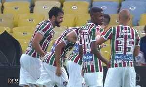 Fluminense vence o Atlético-MG em partida do Brasileirão