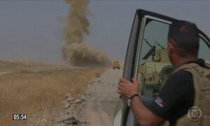 Tropas iniciam retomada de cidade sob domínio do Estado Islâmico no Iraque