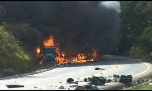 Acidente com micro-ônibus que levava grupo de dança deixa 11 mortos no ES
