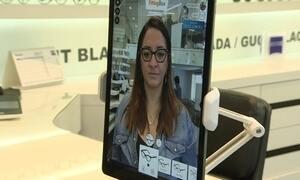 Mostruário virtual de óculos chega ao Brasil