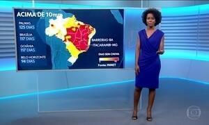 Confira a previsão do tempo para o sábado (16) em todo o país