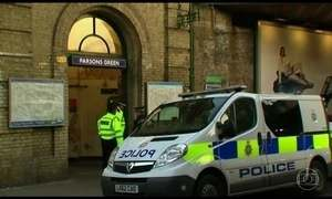 Polícia prende um suspeito de envolvimento no ataque contra o metrô de Londres
