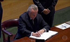 Segundo dia de assembleia da ONU tem assinatura do tratado que proíbe armas nucleares