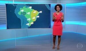 Confira a previsão do tempo para a terça-feira (26) em todo o país