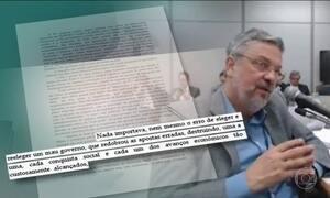 Antonio Palocci pede desfiliação do PT em carta