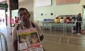 Pai percorre 13 estados em busca do filho desaparecido