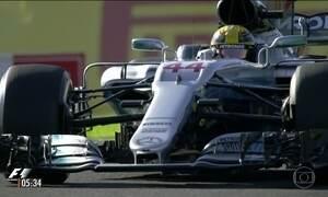 Lewis Hamilton vence no Japão e fica mais próximo do título na F-1