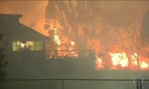 Incêndios florestais na Califórnia deixam 10 mortos