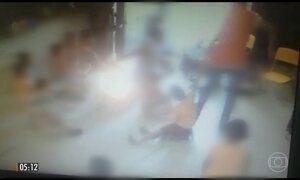 Imagens registram agressão de professora a crianças de três anos em creche de Buri (SP)