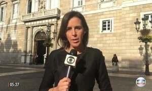Espanha vive a expectativa de anúncio da independência da Catalunha