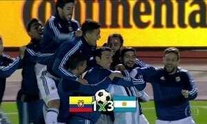Eliminatórias sul-americanas para Copa chegam ao fim com alívio para os argentinos