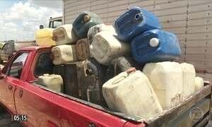Quadrilha usava carros velhos para importar ilegalmente gasolina da Venezuela