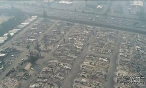 Sobe para 23 o número de mortos nos incêndios no norte da Califórnia