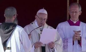 Papa Francisco canoniza 30 mártires e Brasil ganha novos santos