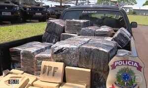 Polícia descobre quase 1,5 tonelada de maconha em mata de Itaipulândia (PR)