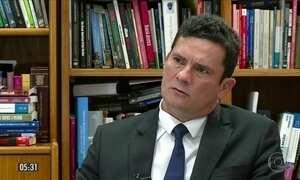 Veja trechos da entrevista que o juiz Sergio Moro concedeu a repórter da GloboNews