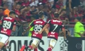 Flamengo goleia o Bahia pelo Brasileirão