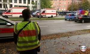 Homem esfaqueia quatro pessoas em rua de Munique, na Alemanha