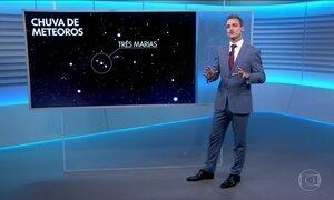 Chuva de meteoros poderá ser vista a olho nu em todo o Brasil