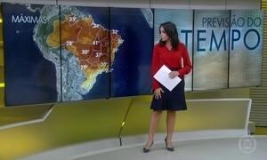 Previsão é de chuva para Rio de Janeiro nesta segunda-feira (23)