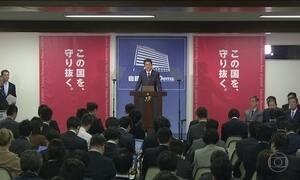 Coalizão liderada pelo primeiro-ministro japonês conquista 2/3 das cadeiras do parlamento