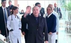 Michel Temer retoma articulações políticas após alta hospitalar em SP