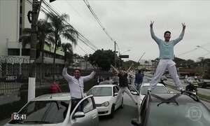 Projeto que regula transportes por aplicativo provoca protesto em várias partes do Brasil