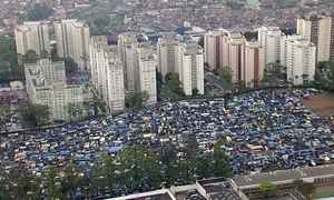 Sete mil famílias brigam por moradia em ocupação em São Bernardo do Campo