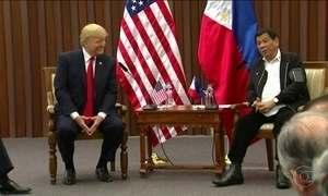 Trump se encontra com presidente filipino, acusado de violar direitos humanos