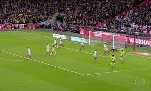 Brasil e Inglaterra empatam sem gols em amistoso em Londres