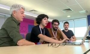 Jovens produzem reportagens em parceria do Profissão Repórter com o Globo Lab