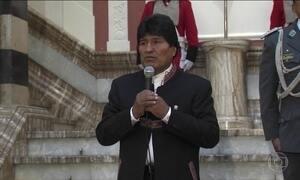 Presidente da Bolívia, Evo Morales, conquista direito de concorrer a quarto mandato