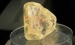 Diamante é vendido por US$ 6,5 milhões em leilão de Nova York