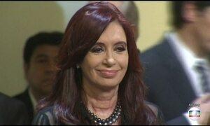Justiça argentina pede prisão preventiva de Cristina Kirchner
