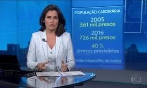 Número de presos no Brasil dobra em 11 anos
