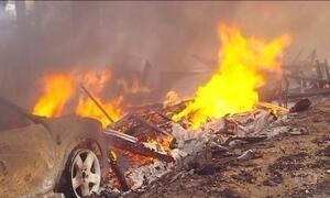 Incêndios florestais na Califórnia continuam se propagando