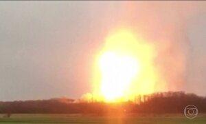 Explosão de gasoduto mata uma pessoa na Áustria