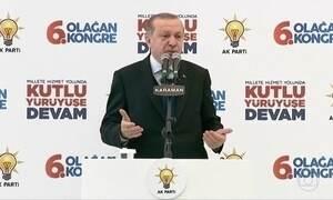 Turquia quer reconhecer Jerusalém Oriental como capital palestina