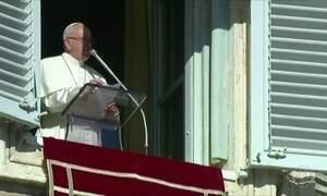 Papa Francisco começa a celebrar seu quinto Natal como líder da Igreja Católica