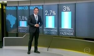 Banco Mundial melhora a previsão de crescimento para vários países