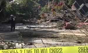 Equipes de resgate procuram cinco desaparecidos após deslizamentos de terra na Califórnia