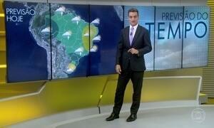Chuva se espalha pelo centro-oeste do Brasil
