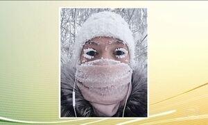 Temperatura despenca para 67 graus negativos na Rússia