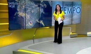 Previsão é de sábado chuvoso no leste de Pernambuco e da Paraíba