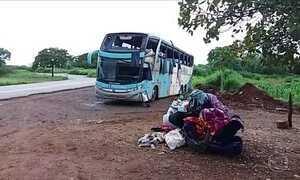 Acidente de ônibus deixa sete mortos no Tocantins